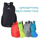 15L Outdoor Hiking Travel Riding Fishing Foldable Rucksack Bag Breathable Straps