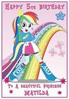 Personalised My Little Pony Equestrian Girls Inspired Birthday Card - Lovely