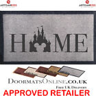 Home Disney Castle Candle Mickey Mouse 5 Colours Washable Internal Door Mat