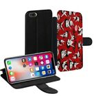 Betty Boop Printed PU Leather Stand Wallet Case for Apple iPhone Models - 0024 $23.29 AUD