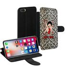 Betty Boop Printed PU Leather Stand Wallet Case for Apple iPhone Models - 0019 $24.0 AUD