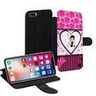 Betty Boop Printed PU Leather Stand Wallet Case for Apple iPhone Models - 0020 $18.47 USD