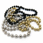 BEAD CHAIN EYES - Hareline Fly Tying Dumbbell Eyes - Black Gold Silver 4 Sizes!