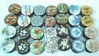 SIZE 22 mm JOB LOT 28  PIECES OF ASSORTED PATTERNED PLUGS + 1 PAIR TUNNELS