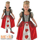 Queen of Hearts Girls World Book Day Fancy Dress Kids Childrens Childs Costume