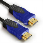 HDMI Cable, HDMI 2.0 cable, 3D, Ethernet, 4K Ultra HD 1.5 3 6 10 15 25 30ft 50ft