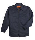 Work Jackets Used Uniform Cintas Unifirst Red Kap Insulated Lined Panel Coat
