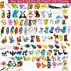 Lego Animal Bird Cat Dog Bear Monkey Owl Frog Parrot Snake Bat Snail You Pick