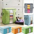 Внешний вид - Foldable Storage Bag Clothes Blanket Quilt Closet Sweater Organizer Box Pouche K