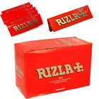 RED BOOKLETS SMALL RIZZLA CIGARETTE ROLLING PAPERS MADE IN BELGIUM 100% GENUINE