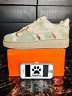 "Nike Air Force 1 '07 LV8 ""Desert Camo"" 718152-204 Size 9 Sample Unreleased"