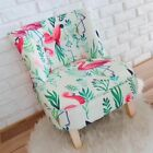 Kids Sofa Chair Furniture Ottoman Flamingo 100% Cotton Pinewood Gift Ins Outdoor