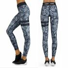 Women Breathable Running Yoga Pants Camouflage Printed Quick Drying Trousers HL