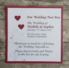 Personalised Wedding Post Box Sign, Pick A Seat Not A Side & Many More - APHSIG1