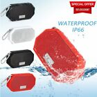 Mini LESHP Rugged Portable Waterproof Bluetooth Speaker Bumping Bass with Mic BS