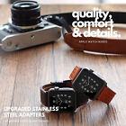 Single Tour Genuine Leather Wristwatch Bands Apple watch 1 2 3 Strap For Iwatch