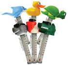 Swimming Pool Spa Hot tub Floating Animal Thermometer Shark Turtle Duck Dolphin