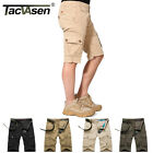 TACVASEN Mens Tactical Cargo Shorts Military Casual Multi-Pockets Workout Pants