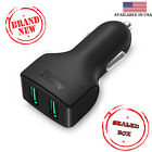 Aukey CC-S3 Micro Auto Universal Dual 2 Port USB Car Charger Adapter 4.8A -Black