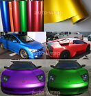 Hot Entire Car Wrap CBW Metallic Matte Chrome Satin Vinyl Sticker 50FT x 5FT HD