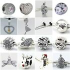 Authentic Solid 925 Sterling Silver Charms AA fit European Bead Charm Bracelets