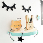 Wall Decor Wooden Sleepy Eyes Infant Nursery Baby Kids Bedroom Decor Eyelash