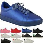 LADIES WOMENS LACE UP TRAINERS CLASSICS RETRO SPORTS SNEAKERS PUMPS SIZE