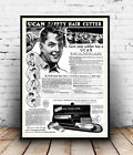 Ucan safety Cutter : Vintage Hair care, poster, Wall art, poster, reproduction.