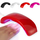 3 LED 9W UV Nail Dryer Quick-drying USB Portable Nail Manicure Dryer Curing Lamp