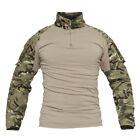 TACVASEN 1/4 Zip Military Tactical Combat Shirts Moisture Wicking Army Shirt TopShirts & Tops - 177874