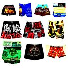 Assorted Men's Boxer Underwear TMNT Family Guy Walking Dead Ted Corona NWT