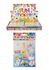 CHILDRENS MERMAID STICKER SHEETS PARTY BAG FILLERS FAVOURS BOYS GIRLS STICKERS
