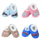 Baby's Slumbies Applique Fluffy Fur Non-Slip Slipper Soft Sock Family Gift 2018