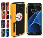 For Samsung Galaxy S7 - Official NFL Dual Layer ShockProof TPU Hard Cover Case $17.99 USD on eBay
