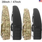 gun cases rifle - Professional Gun Case Hunting Tactical Rifle Bag Carrying Black Camo With Strap