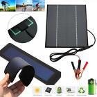 Solar Panel Mobile Phone Tablet Power Bank Home Lamp External Battery Charger LJ