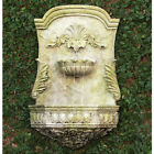 "29"" Scroll Wall Fountain - Water Feature -  Fiberstone Yard Art - Patio Decor"