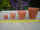 Terracotta Clay Plant Pots - Quality Pots in Various Pack Sizes - FREE P&P
