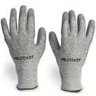 Milcoast Level 5 Cut Resistant HPPE Gloves - Pack of 3 Pairs