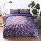 Duvet Cover With Pillowcase Quilt Cover Mandala Bedding Set Single King All Size