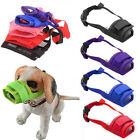 S-XL Dog Muzzle Anti Stop Bites Barking Chewing Mesh Mask Training Small Large