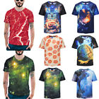 Men's 3D Funny Print T-Shirts Graphic Hip Hop Party Personalized  Tee Plus size