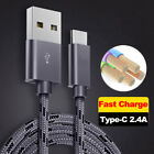 9FT Type C USB Fast Charging Sync Data Cable for Samsung Gal