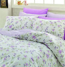 Cotton Sheet Set Flat & Fitted Sheet Pillowcases Shams High Quality US Standards image
