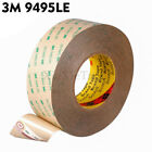 3M 9495LE 300LSE Double Side Adhesive Tape Transparent 55meter Choose Wide