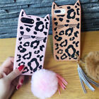 leopard cat mix - Hot Hairball Leopard cat Cute Cartoon Soft Silicone Case Cover For Various Phone