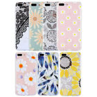 For iPhone 8 Plus 8 Case Floral TPU Clear Slim Cute Flowers Pattern Soft Cover