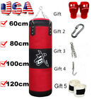 4 size Heavy Boxing Canvas Training Punching Bag Martial Fitness Muay Thai J