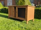 Indoor Pet House Rabbit Guinea Pig Hedgehog Cage Hutch Delivered Fully Assembled <br/> Single + Double + Weather shields Available