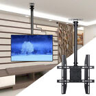Adjustable Tilting TV Ceiling Mount Bracket Fits MostLCD LED Plasma Monitor Flat